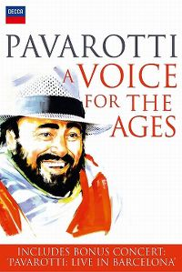 Cover Luciano Pavarotti - A Voice For The Ages [DVD]